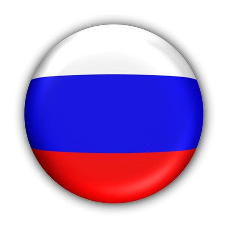 World Flag Button Series - Europe - Russia(With )