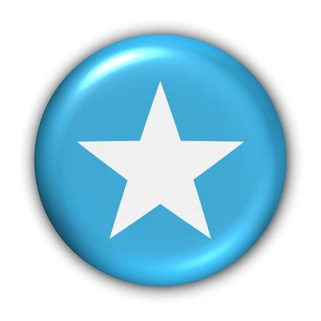 somalia: World Flag Button Series - Africa - Somalia (With )