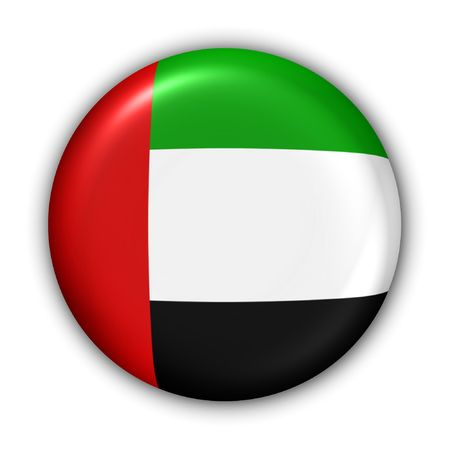 World Flag Button Series - Asia/Middle East - UAE (With )
