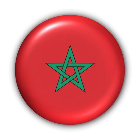 World Series Zgłoś Button - Afryka - Maroko (Z Clipping Path)