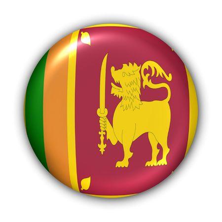 World Series Zgłoś Button - Azja - Sri Lanka (Z Clipping Path)