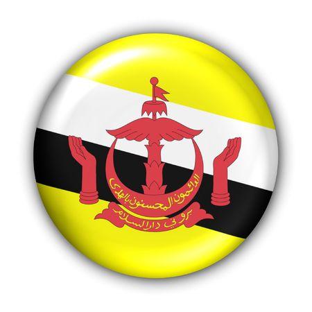 World Series Zgłoś Button - Azja - Brunei (Z Clipping Path) Zdjęcie Seryjne