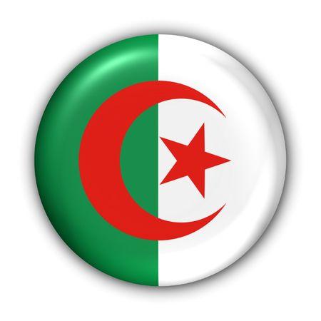 World Series Zgłoś Button - Afryka - Algieria (Z Clipping Path)