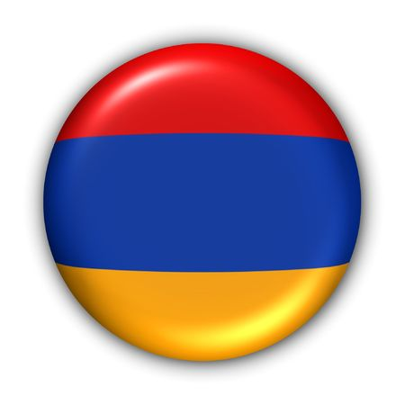 World Flag Button Series - Asia - Armenia (With Clipping Path) photo