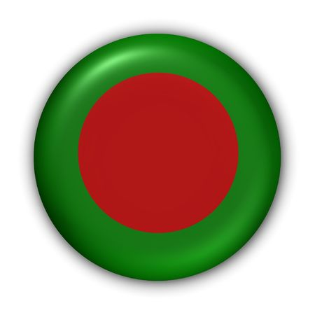 World Flag Button Series - Asia - Bangladesh (With Clipping Path) photo