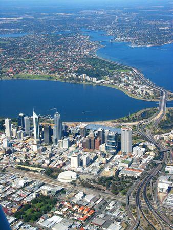 Anteny widzenia Perth City 2 Zdjęcie Seryjne