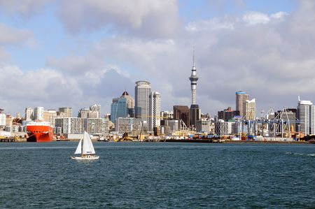 New Zealand - City of Sail, Auckland Skyline photo