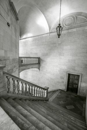 carlos: Alhambra Carlos V Palace Stairs