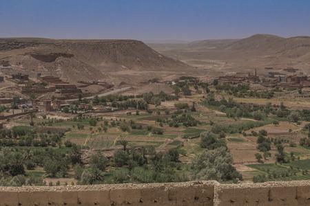 Kasbah in Marokko Standard-Bild - 100036509