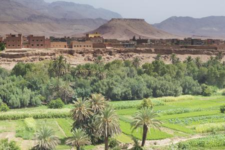 Kasbah in Marokko Standard-Bild - 100036560