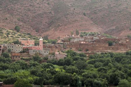Kasbah in Morocco Stock Photo