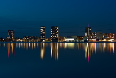almere: Illuminated architecture, Holland