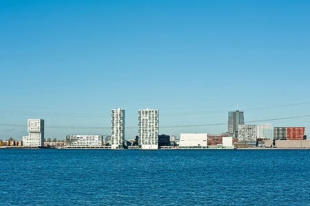 almere: Skyline of a modern city, Almere, Holland, Europe