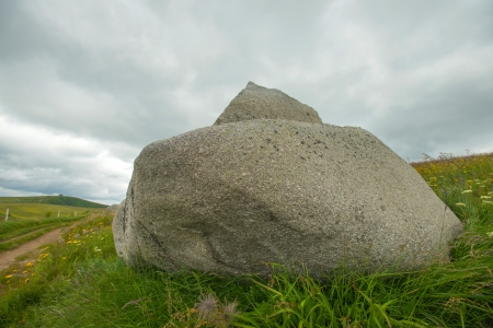 Rock in the lower mountains of Vosges