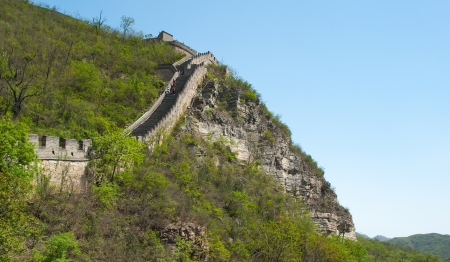 Great Wall of China in Juyongguan Stock Photo - 16540837