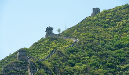 Great Wall of China in Juyongguan Stock Photo - 16540826