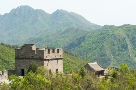 Great Wall of China in Juyongguan Stock Photo - 16540819