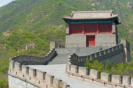 Great Wall of China in Juyongguan Stock Photo - 16540825