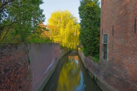 leuven: River through the Grand Beguinage of Leuven