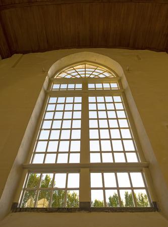 leeuwarden: Window of the Jacobin church in Leeuwarden