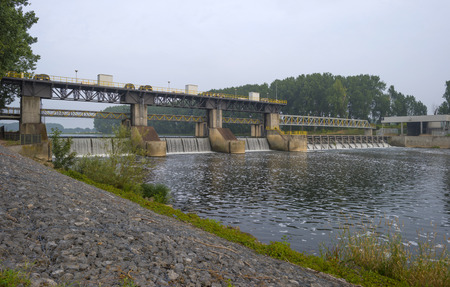 weir: Weir across a river to Regulate its flow