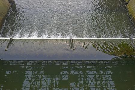 weir: Weir across a river to Regulate its flow