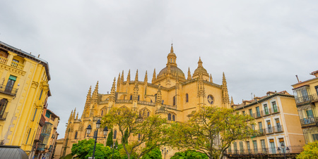 Detail of the Cathedral of Segovia Editorial