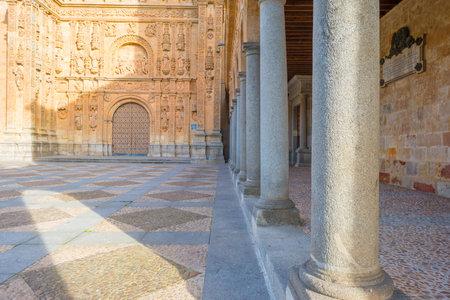 salamanca: Detail of a Dominican monastery in Salamanca Editorial