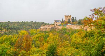 Alcazar of Segovia on a hill