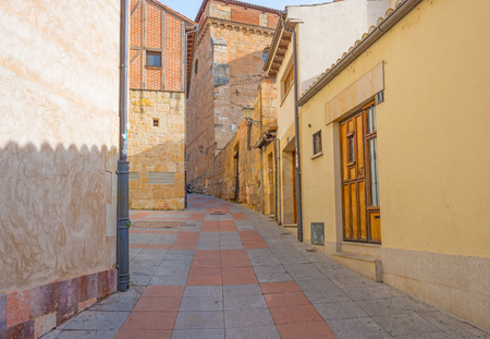 salamanca: Alley in the historic city of Salamanca Editorial