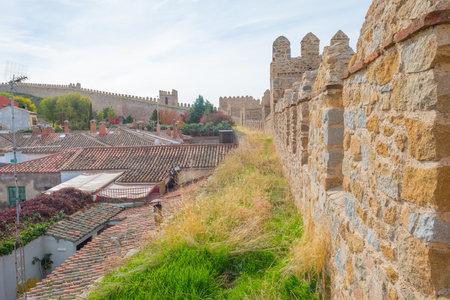 Medieval wall around the city of Avila