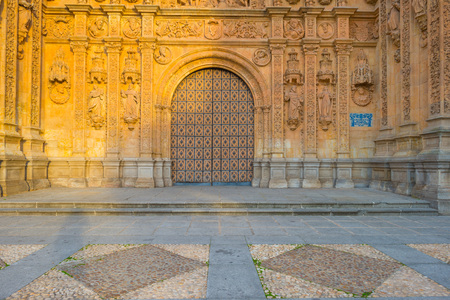convento: Detail of a Dominican monastery in Salamanca Stock Photo