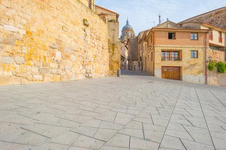 salamanca: View of the historic city of Salamanca Editorial