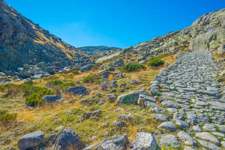 Hills of natural park Sierra de Gredos