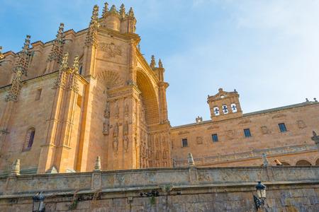 salamanca: Detail of a Dominican monastery in Salamanca Stock Photo