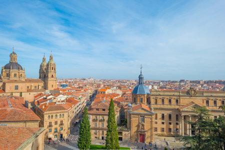 salamanca: View over the historic city of Salamanca