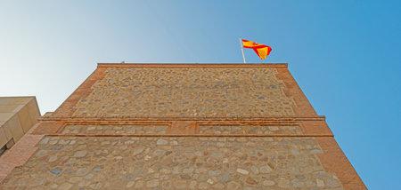 toledo: Alcazar of the city of Toledo