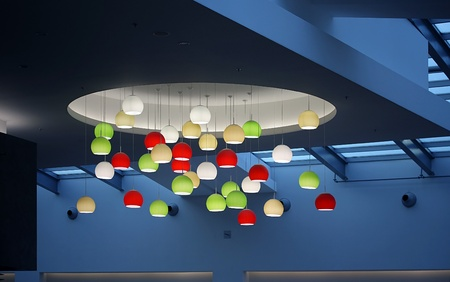 globular: globular lampshade pendant light fitting