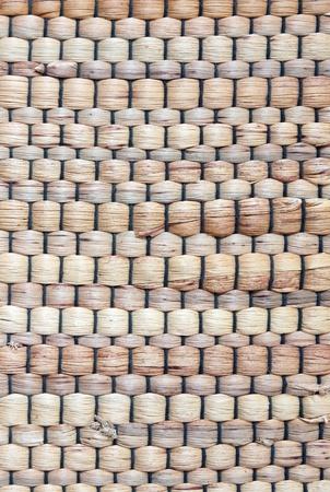 Rush mat texture background photo