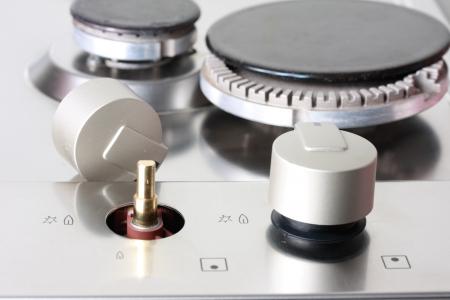 disassemble Natural Gas Hot Plate Standard-Bild