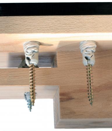 dowel: rimpled dowels  Stock Photo