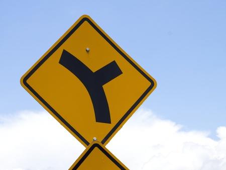 Road Sign – Fork