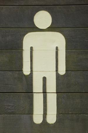 Painted Man Stock Photo