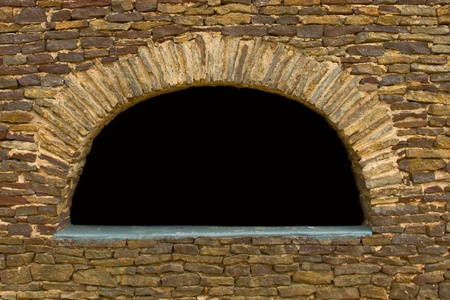 Sandstone Wall Arch photo