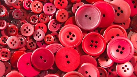 Red buttons, small and large  photo