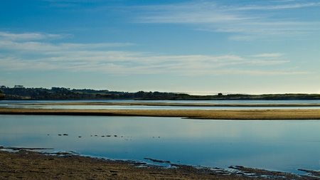 sandbar: Sandbar Panorama