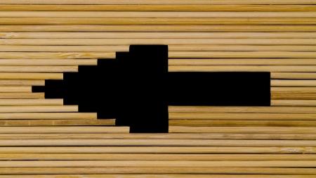 Arrow Silhouette Stock Photo