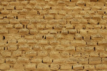 Adobe Mud Brick Wall