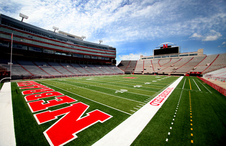 Nebraska Huskers Football Memorial Stadium Field