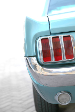 Vintage Mustang Car Tail Light